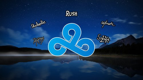 New C9 Roster Wallpaper