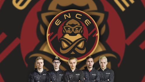 ENCE Wallpaper w/ Players