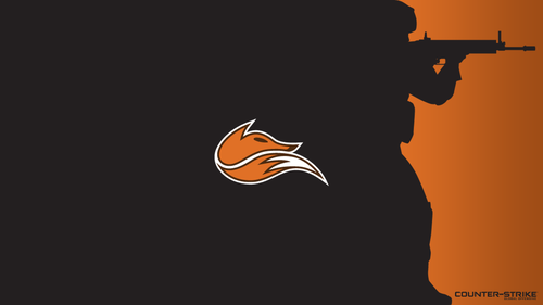 Black with logo - Echo Fox