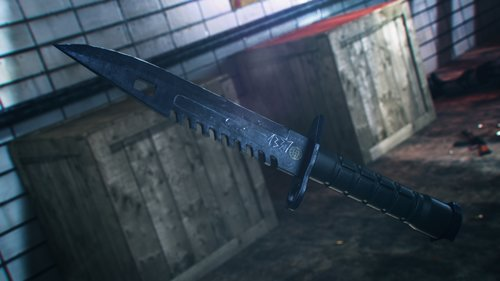 m9 bayonet night 3D