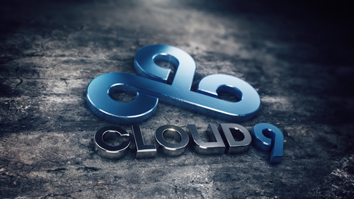 Cloud9 logo 3d