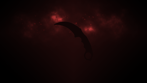 Red Karambit
