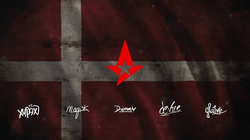 Astralis wallpaper with Autograpg by Ronofar