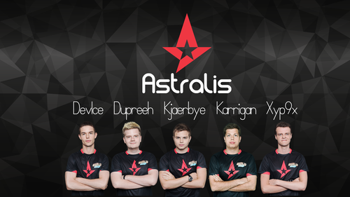 AstralisGG Wallpaper (New Roster)!