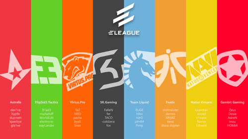 Eleague Atlanta 2017 - Legends
