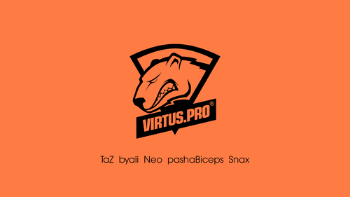 Virtus.pro orange/black