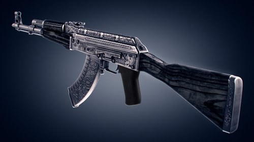 ak-47 cartel black laminate