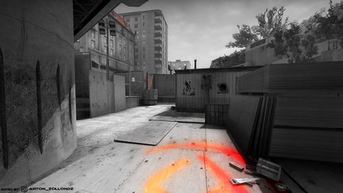 CS:GO Overpass Wallpaper