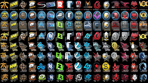 All team stickers