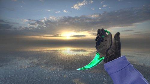 Karambit Emerald
