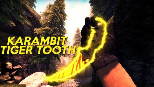 Karambit | Tiger Tooth