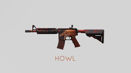 M4A4 Howl - 4K