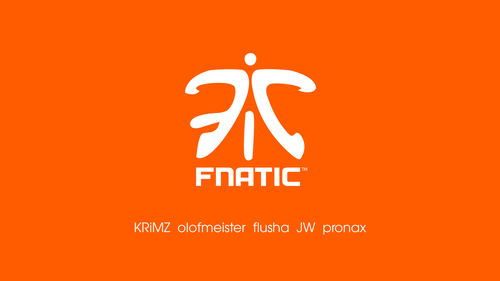 Fnatic orange/white