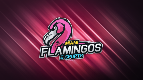 Miami Flamingos Wallpaper - By RealwhOunz
