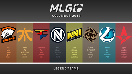 MLG Columbus 2016 Legends