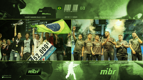 MIBR - The Return v.2 (logo <center>)