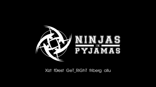 Ninjas In Pyjamas black/white