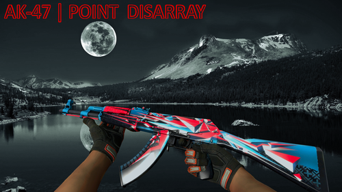 AK-47 | Point Disarray - MoonLake Wallapaper