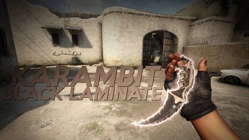 Karambit | Black Laminate