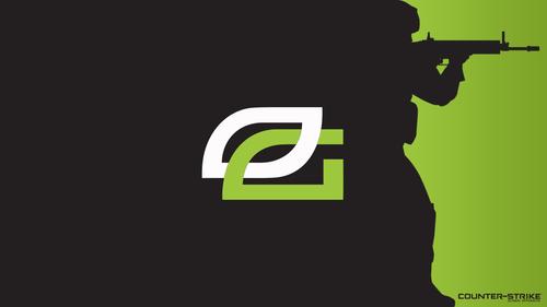 Black with logo - Optic
