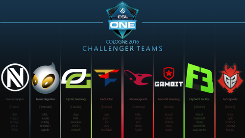 ESL One Cologne 2016 - Challengers