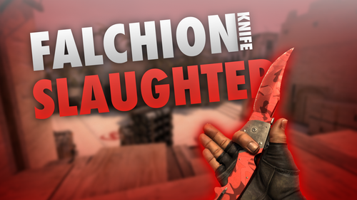 Falchion Knife Slaughter